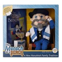 Mensch on a Bench Plush Doll and Hardcover Book