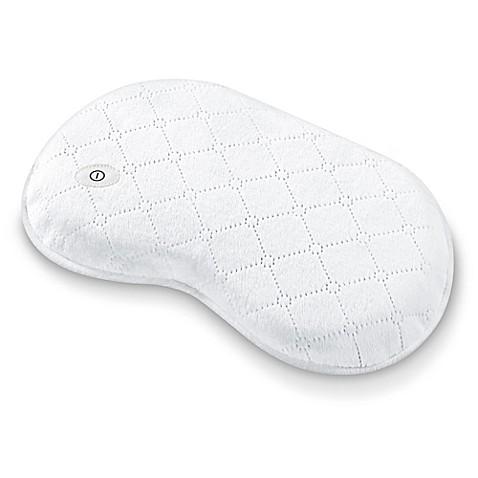 beurer vibrating massage bath pillow - bed bath & beyond