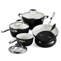 Tramontina® Gourmet Ceramica Deluxe 8-Piece Cookware Set in Black