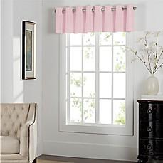 Elegant Newport Grommet Window Curtain Valance