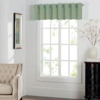 Newport Grommet Window Curtain Valance in Sage