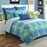 Fiesta® Ava Reversible Twin Quilt Set