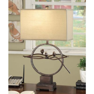 Crestview Collection Song Bird Table Lamp