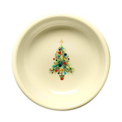 fiesta christmas tree small bowl - Small Decorated Christmas Trees