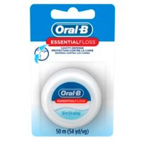 Oral-B Essential 55 Yards Waxed Floss