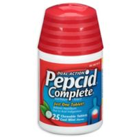 Pepcid Complete 25-Count Chewable Tablets in Cool Mint Flavor
