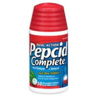 Pepcid® Complete 50-Count Chewable Tablets in Cool Mint