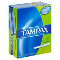 Tampax 40-Count Super Tampons