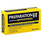 Preparation H® 24-Count Hemorrhoidal Suppositories