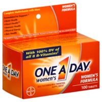 One A Day Women's 100-Count Multivitamin & Multimineral Supplement Tablets
