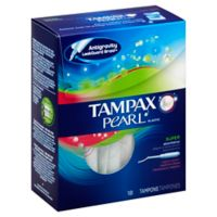 Tampax Pearl 18-Count Fresh Scent Super Tampons