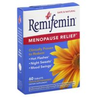 Remifemin Menopause Tablets 60-Count Herbal Supplements