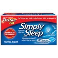 Simply Sleep 100-Count Nighttime Sleep Aid Caplets
