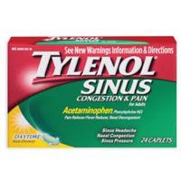 Tylenol® Sinus Congestion & Pain Daytime 24-Count Caplets