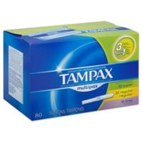 Tampax 80-Count Multipax Unscented Tampons