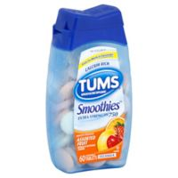 TUMS® Smoothies™ Extra-Strength 60-Count Chewable Tablets in Assorted Fruit Flavors