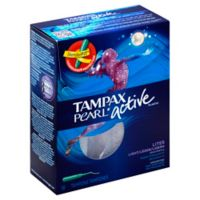 Tampax Pearl Active 18-Count Lites Tampons