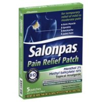 Salonpas® 5-Count Pain Relieving Patch