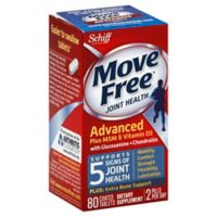 Schiff Move Free® Glucosamine Chondroitin MSM & Vitamin D3 80-Count Tablets