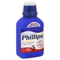 Phillips' Milk Of Magnesia 26 oz. Saline Laxative in Wild Cherry Flavor
