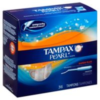 Tampax Plastic Pearl 36-Count Super Plus Unscented Tampons
