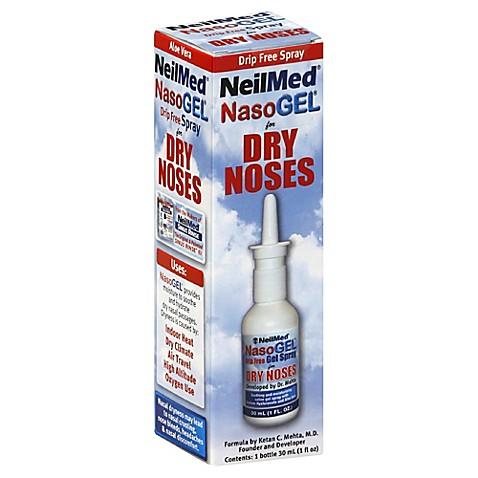 Neilmed 174 Nasogel 174 1 Oz Drip Free Nose Spray For Dry Noses