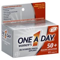 One A Day® Women's 50+ Healthy Advantage 65-Count Multivitamin/Multimineral Tablet