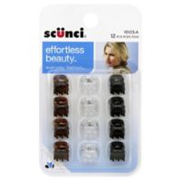 Scunci 12-Count Mini Jaw Hair Clip