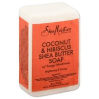 SheaMoisture Coconut & Hibiscus Shea Butter Soap 8 oz. Bar Soap with Songyi Mushroom