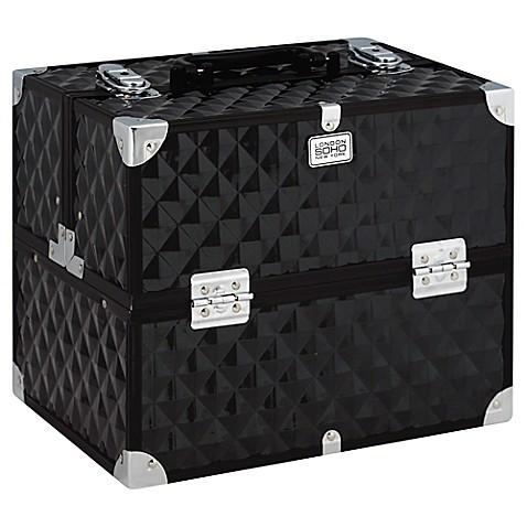 Soho Digital Diamond Pro Train Case In Black Bed Bath