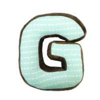 "One Grace Place Puppy Pal Letter ""G"" Pillow"