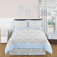 Sweet Jojo Designs Avery 3-Piece Full/Queen Bedding Set in Blue