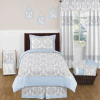 Sweet Jojo Designs Avery 4-Piece Twin Bedding Set in Blue