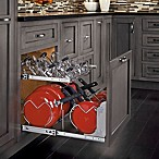 Rev-A-Shelf - 5CW2-2122-CR - 21 in. Pull-Out Two-Tier Base Cabinet Cookware Organizer