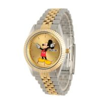 Disney® Men's 35mm Two-Tone Mickey Mouse in Stainless Steel