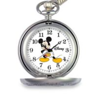 Disney® Men's 51mm Mickey Mouse Pocket Watch in Alloy