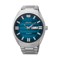 Seiko Men's Recraft Series Automatic Watch in Stainless Steel with Blue Dial