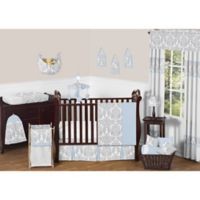 Sweet Jojo Designs 11-Piece Avery Crib Bedding Set in Blue and Grey