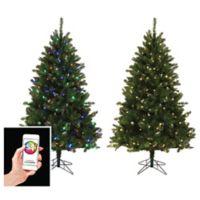 versaline color flip app enabled christmas tree