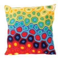 Liora Manne 20-Inch Square Outdoor Throw Pillow in Pop Swirl Multi