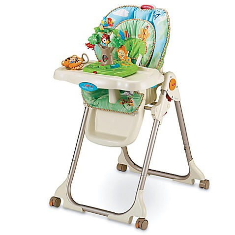 Fisher-Price® Rainforest Healthy Care™ High Chair  sc 1 st  Bed Bath u0026 Beyond & Fisher-Price® Rainforest Healthy Care™ High Chair - Bed Bath u0026 Beyond