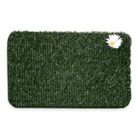 Clean Machine® Flair Small Daisy 18-Inch x 24-Inch Scraper Door Mat