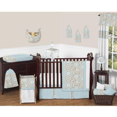 Sweet Jojo Designs Hayden Crib Bedding Collection 11 Piece