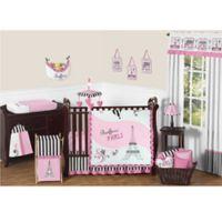 Sweet Jojo Designs Paris 11-Piece Crib Bedding Set