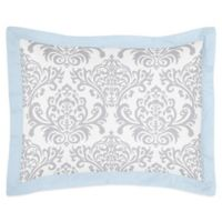 Sweet Jojo Designs Avery Standard Pillow Sham in Blue