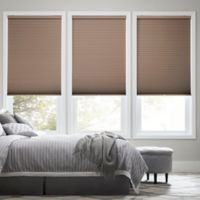 Real Simple® Cordless Blackout Cellular 47-Inch x 72-Inch Shade in Latte