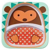 SKIP*HOP® Zoo Divided Plate in Hedgehog