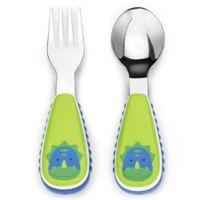 SKIP*HOP® Zootensils Little Kid Fork & Spoon in Dino