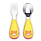 SKIP*HOP® Zootensils Little Kid Fork & Spoon in Cat