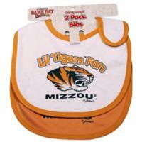 University of Missouri 2-Pack Infant Bib